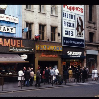Colour Snapshots from a Trip to London in 1970