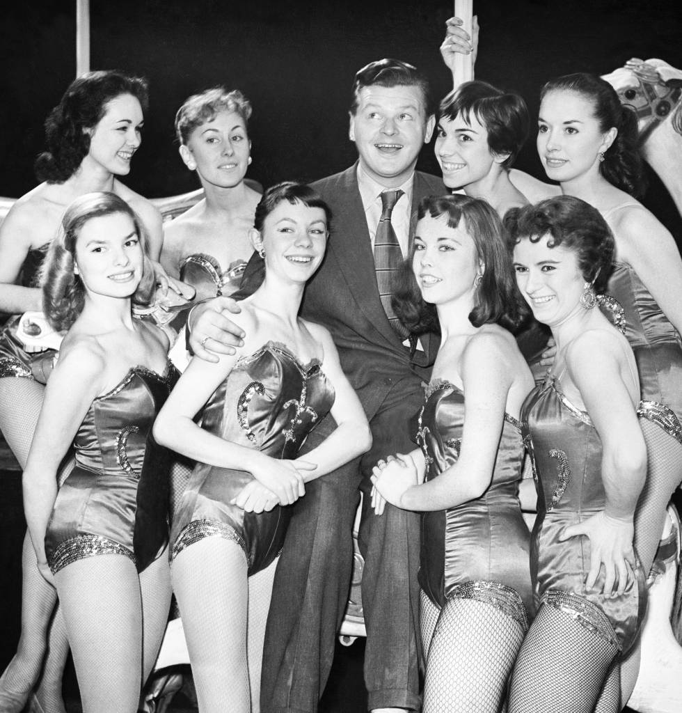 The BBC's 'The Benny Hill Show' from 1955.