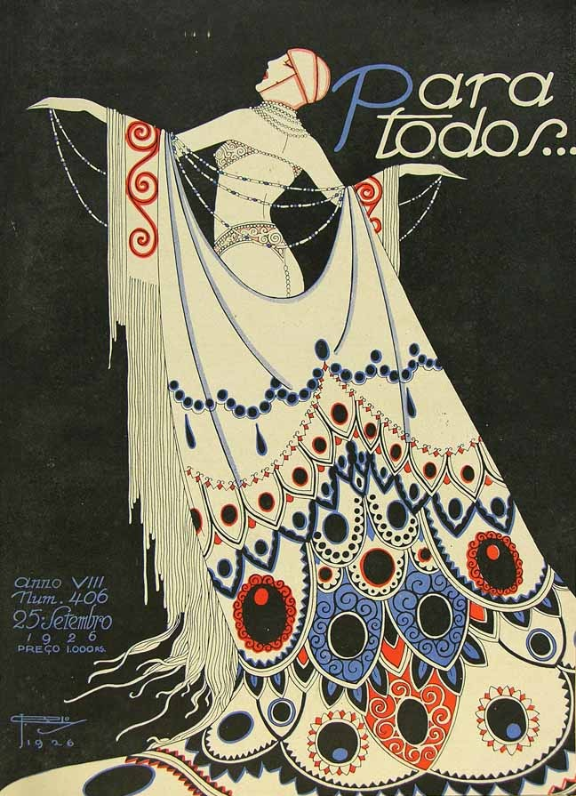 Para Todos Covers Brazil S Gorgeous 1920s Art Deco Style