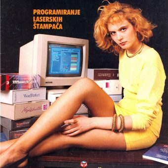 Yugoslavian Computer Magazine Cover Girls of the 1980s-90s