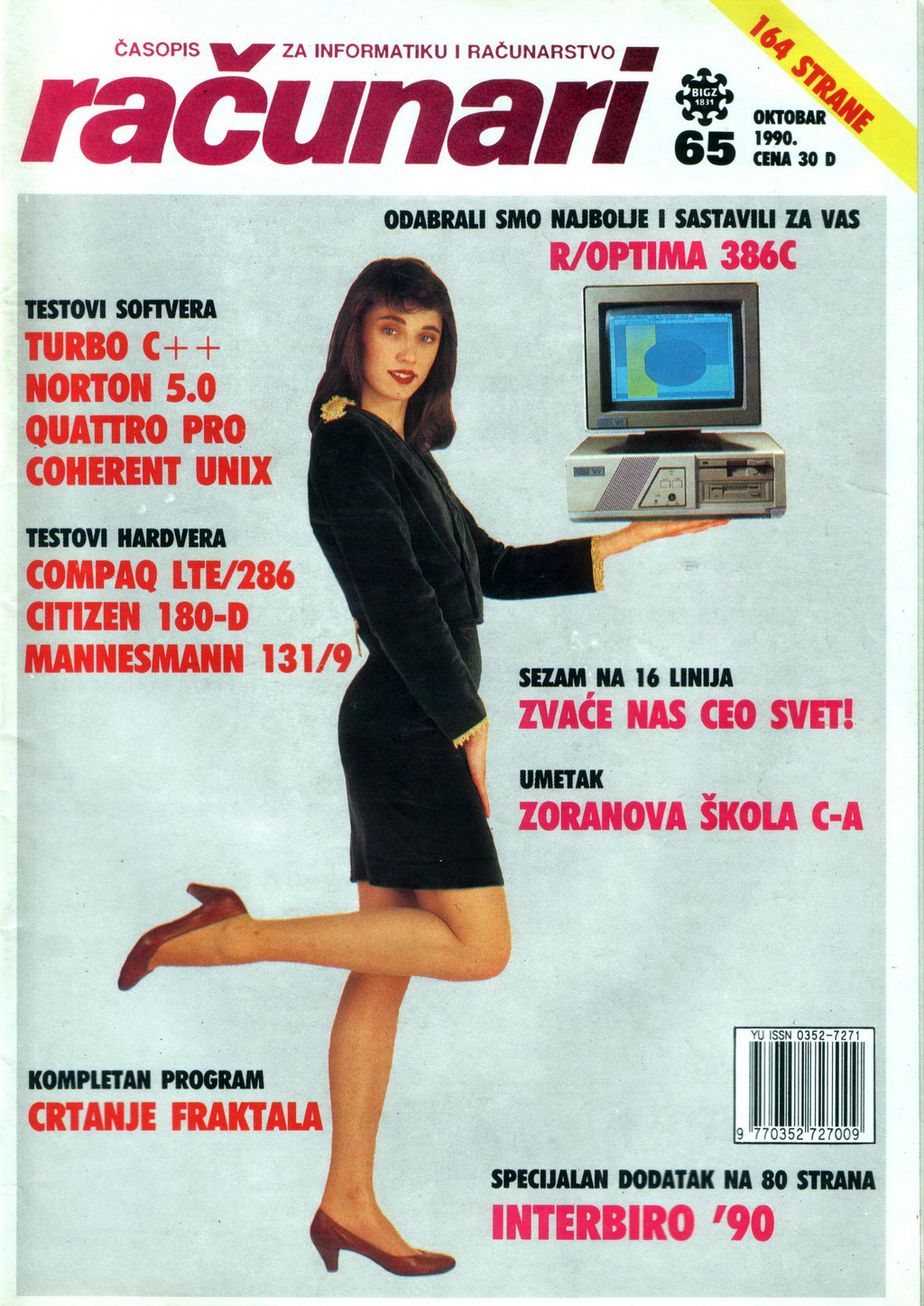 Računari - October 1990