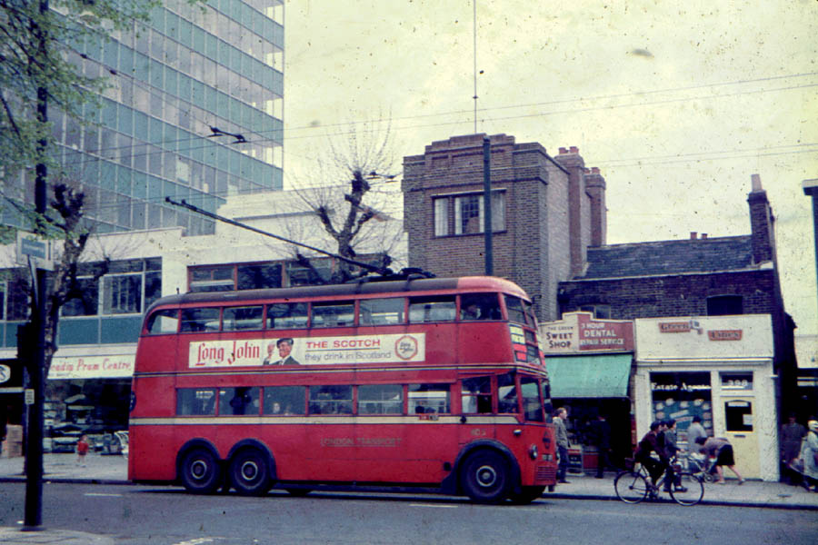 Trolley Bus London