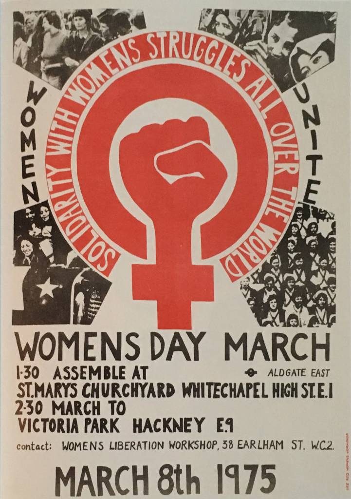 Womens Day March, 1975