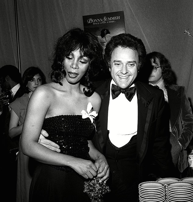 Neil Bogart is seen here with Donna Summer in 1978