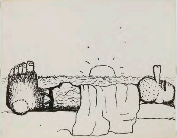 philip guston richard nixon 1971