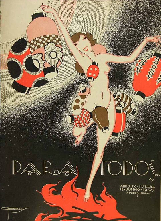 Para Todos Covers: Brazil's Gorgeous 1920s Art Deco Style ...