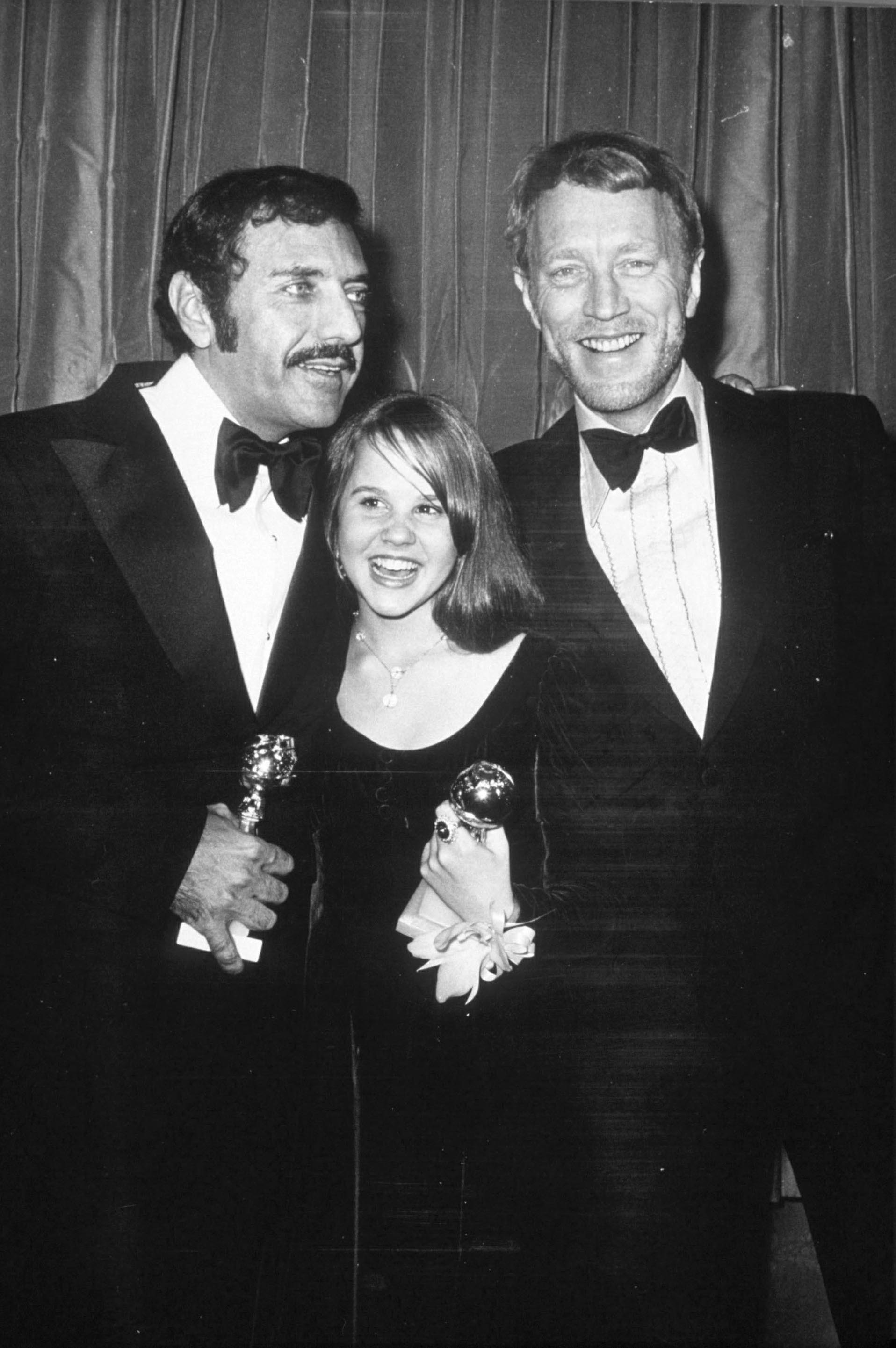 WILLIAM PETER BLATTY 'THE EXORCIST' AUTHOR WITH LINDA BLAIR 1974