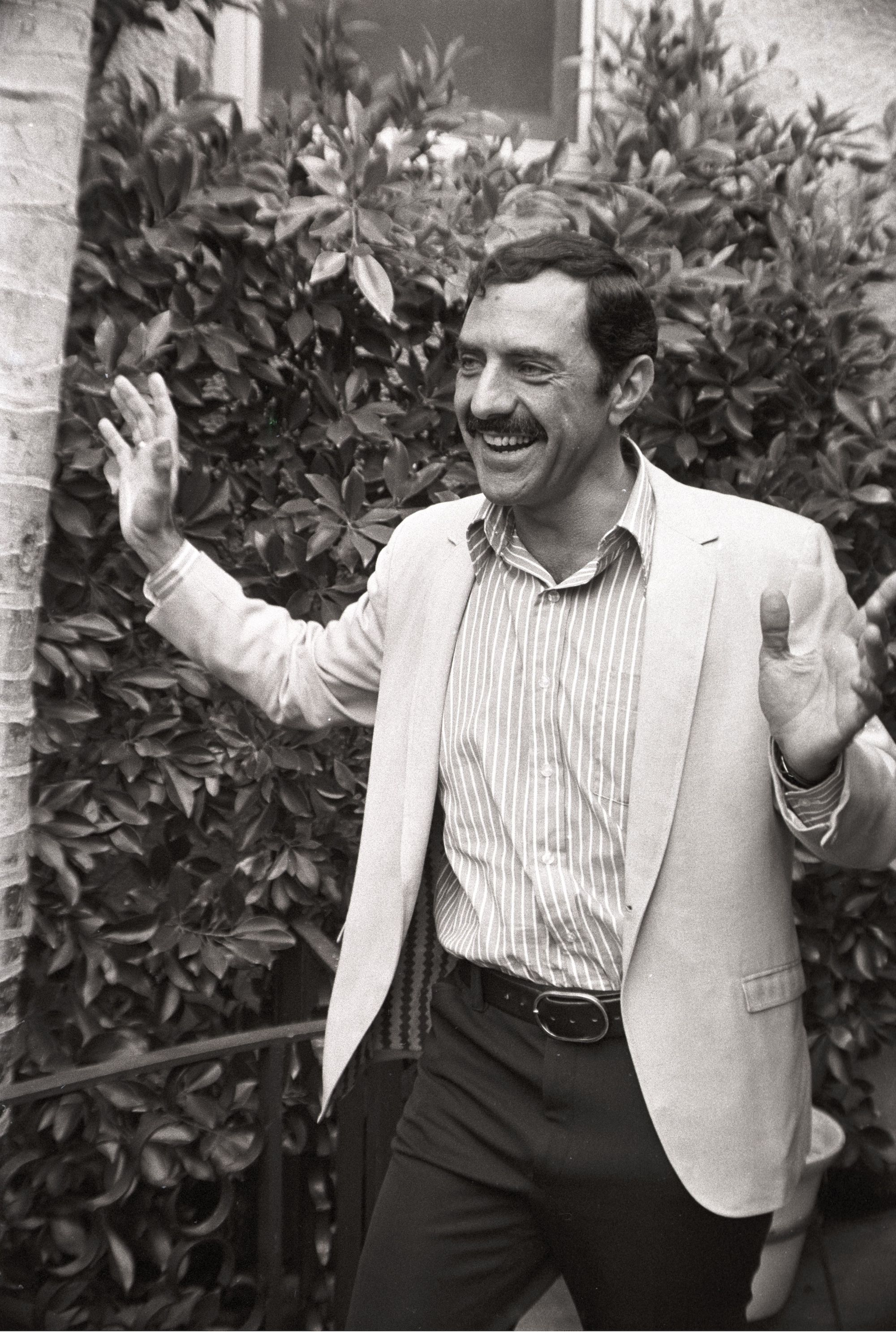 American author William Peter Blatty, Los Angeles. 28 Apr 1971