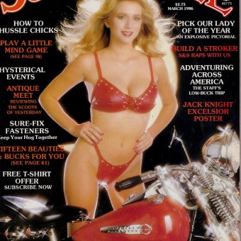 """Bikes, Broads, Beer, and Boogie"": 45 Biker Magazines from the 1980s"