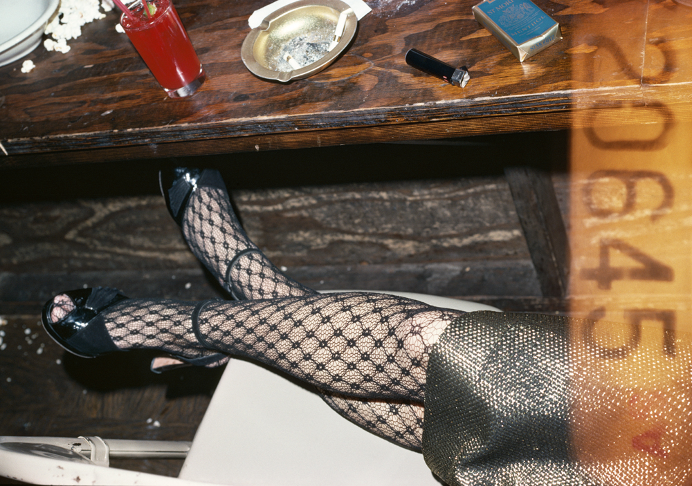 . Legs and red cocktail, 1979