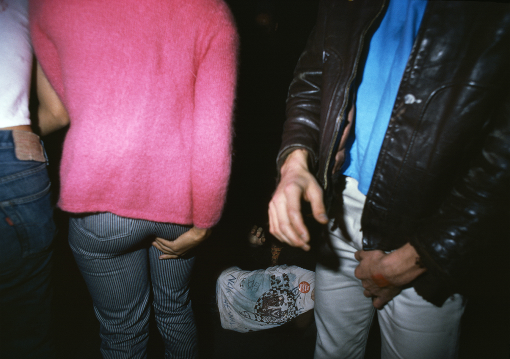 Two people touching, and a guy passed out, 1977 CHAPTER III
