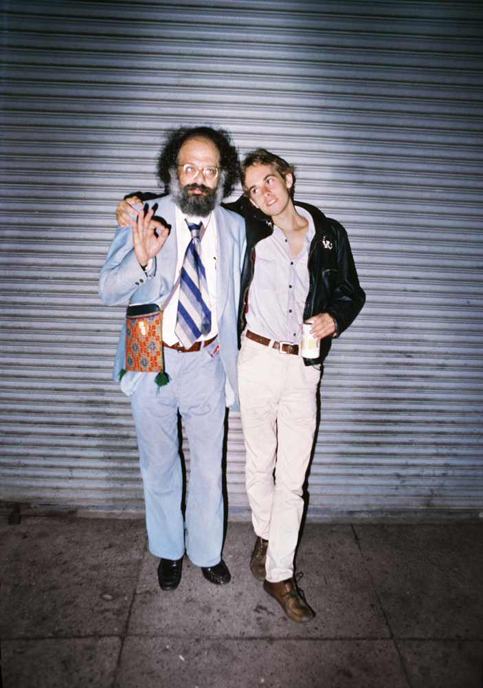 Allen Ginsberg and friend, 1979 This photo was taken the night the Clash performed at Temple Beautiful on Geary Boulevard. The young man with him is Raymond Foye, who went on to become an author and publisher. I find it interesting that Allen Ginsberg is a bridge of sorts, from San Francisco's Summer of Love in the 1960s to the Summer of Hate during the SF punk scene of the 1970s