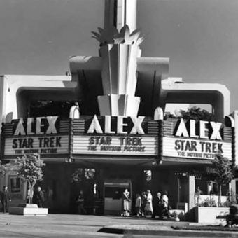 Movie Theater Marquees from the 1950s-1970s