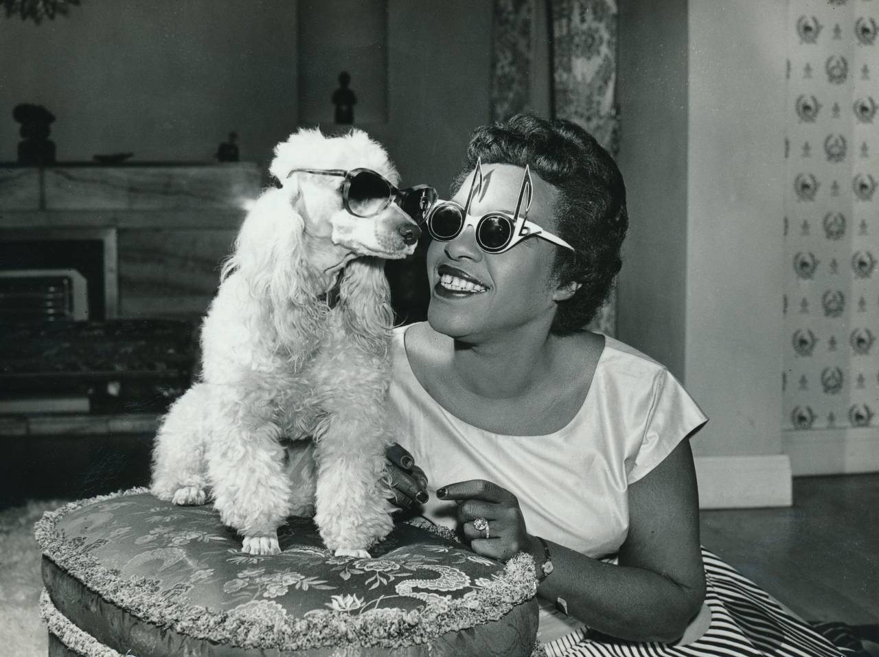 Winifred Atwell and Poodle