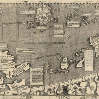 The Universalis Cosmographia (1507): The First Time America Was Named On A Map