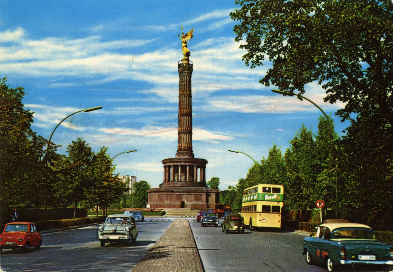 1963 Krüger postcard from Berlin