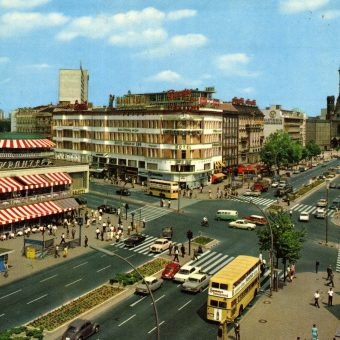 Thirty-Four Brilliant West Berlin Postcards from the 1960s and 70s