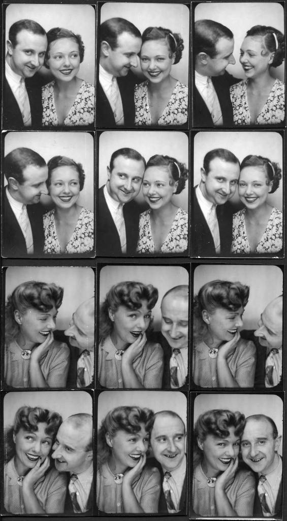 The photographer Willy Michel and Paulette Deplanque called Dubost (1910-2011), opera actress (Mon amant!, Bonsoir Paris ...), theater (The Lady with camellias, Ivanov ...) and cinema (Nana, Hôtel du Nord, The rules of the game, Lola Montès, Lunch on the grass, The last metro, Snowy in May ...). Down below: October 8, 1947 - Birthday