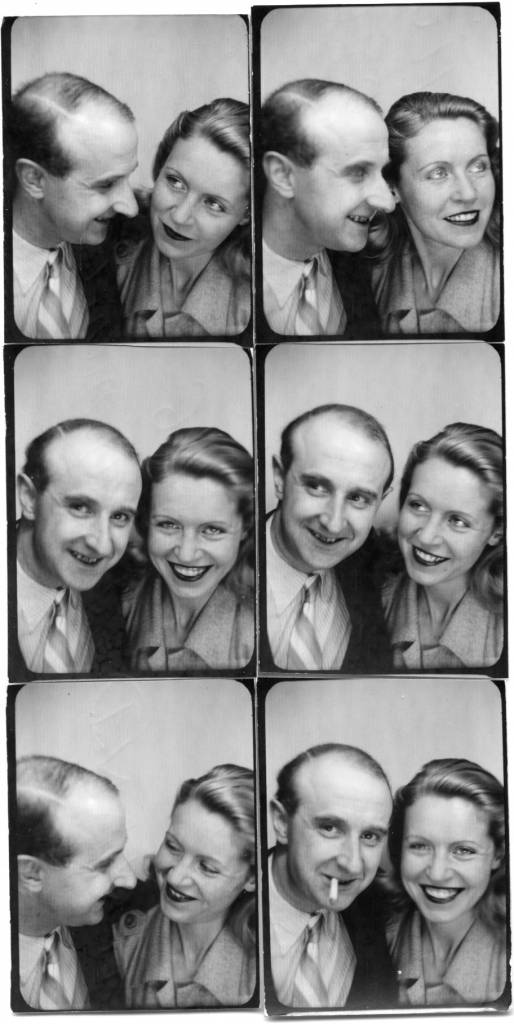 The photographer Willy Michel and Monique Mélinand (born in 1916), theater actress (La folle de Chaillot, Les bonnes ...) and cinema (La pocharde, The open mouth, Blood at the head ...). August 12, 1946
