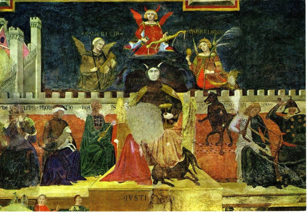 Ambrogio Lorenzetti, Allegory of Bad Government