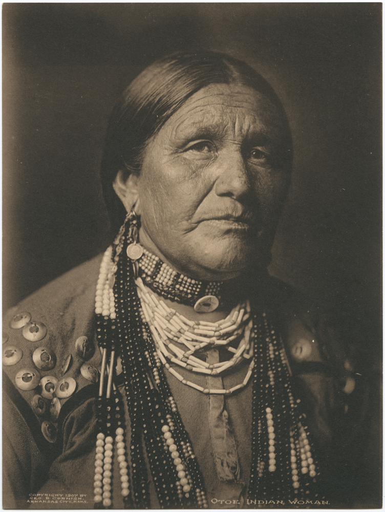 Title: Otoe. Indian Woman. Creator: Cornish, Geo. B. (George Bancroft) Date: 1907