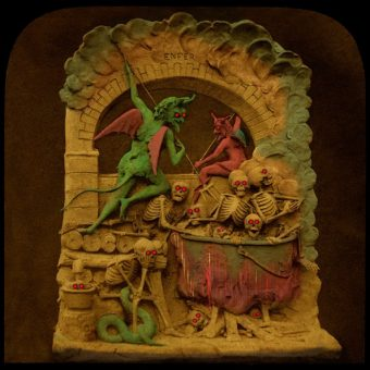At Home With The Satans: 3D Visions Of Hell (1875)