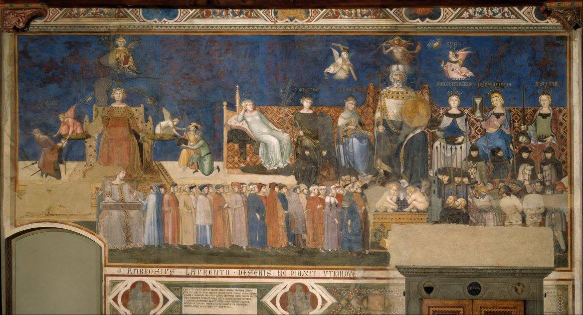 Ambrogio Lorenzetti, Allegory of Good Government