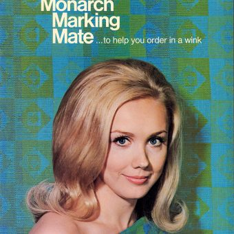 Making Office Supplies Sexy: The 1971 Monarch Marking Mate Catalog