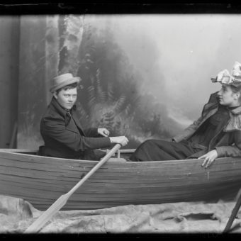 Marie Høeg and Bolette Berg Mocked Gender Roles In These Private End Of The 19th Century Photographs