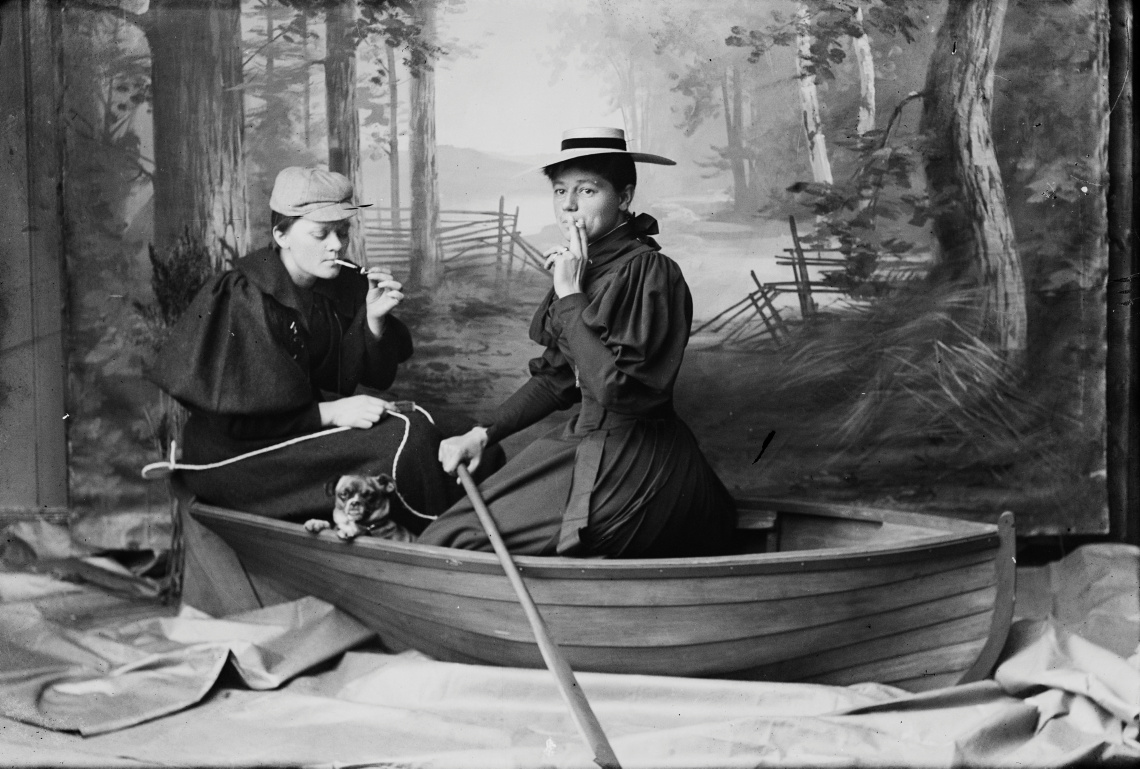 marie høeg and bolette berg mocked gender roles in these private marie høeg and bolette berg mocked gender roles in these private end of the 19th century photographs