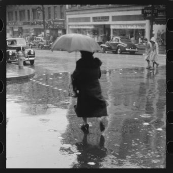 Scenes From A Rainy Day In Norwich, Connecticut by Jack Delano (1940)