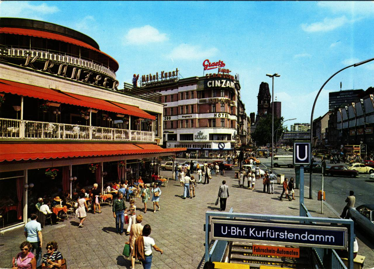 Thirty Four Brilliant West Berlin Postcards From The 1960s
