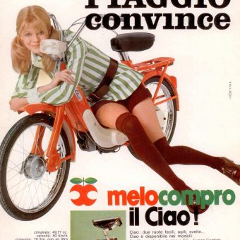 Groovy Chicks Selling Motorbikes: 1960s Sexy Swingin' Scooter & Motorcycle Adverts