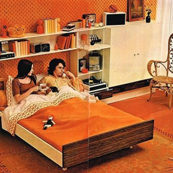 A Clockwork Carpet: When Floor Coverings Went Orange