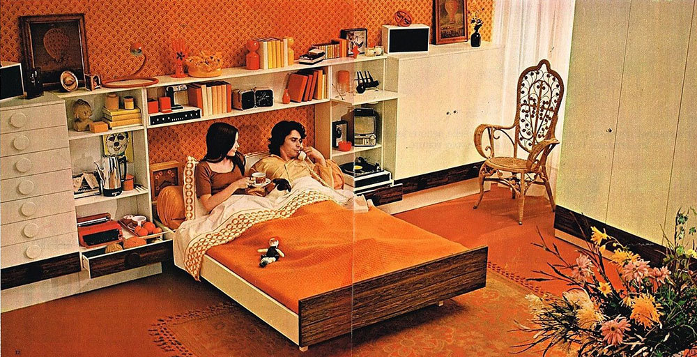Publicité Advertising 1971 (a) Les Meubles Mobilier de France