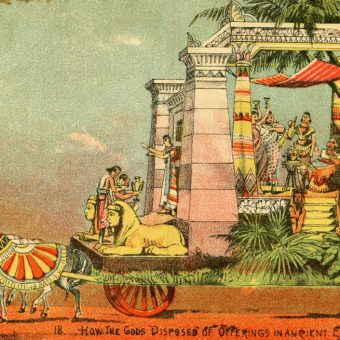 Mardi Gras Floats of 1896: The Mystic Krewe of Comus' Visions of Other Worlds