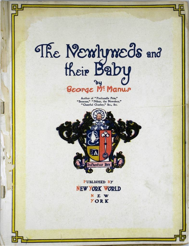 The Newlyweds and their Baby 1907 comic book George McManus