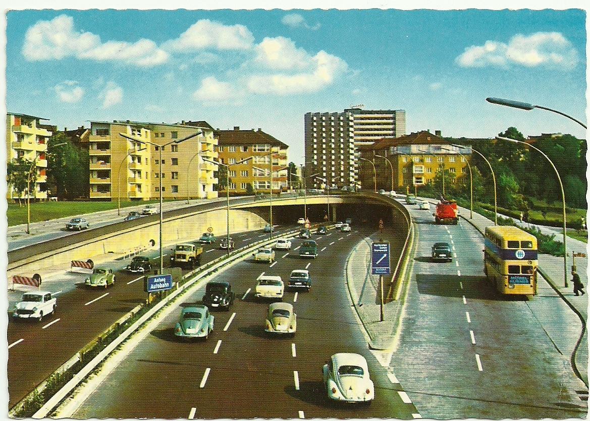 West Berlin c.1962 postcard
