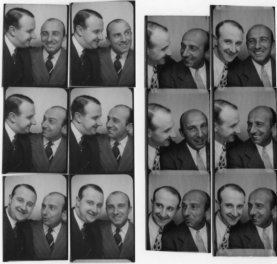 The photographer Willy Michel (left) and Alfred Pasquali (1898-1991), actor of operetta (The adventures of King Pausole, Normandy ...), of theater (The blue peril, The taking of Berg-op-Zoom. ..) and cinema (Raphael-le-Tatoué, We will go to Paris, Jericho, Pension Jonas, The Honorable Catherine ...). Right: September 7, 1942