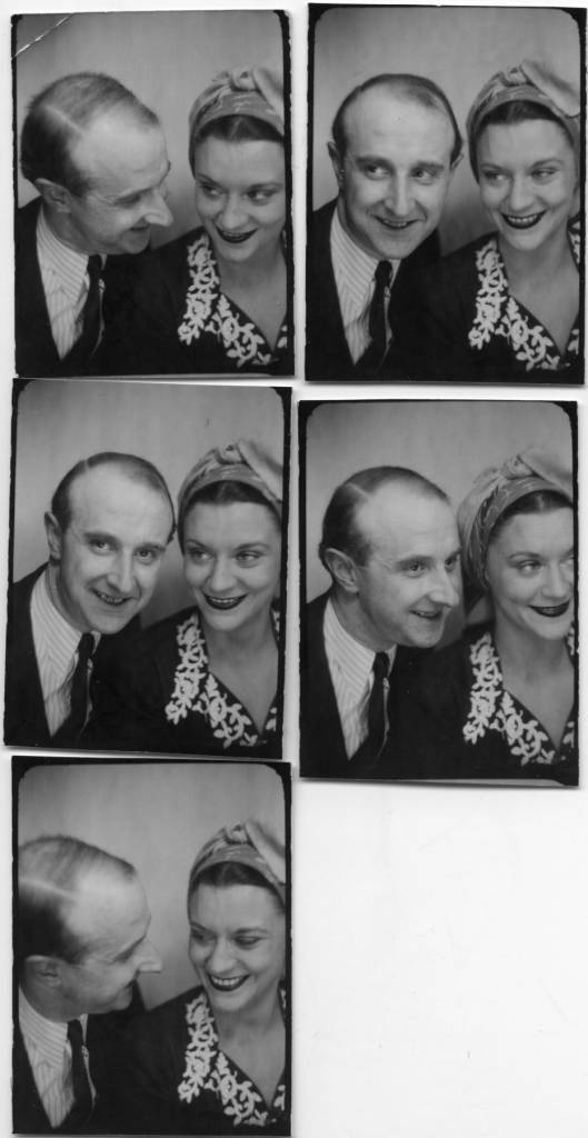 The photographer Willy Michel and Maria Casarès (1922-1996), actress of the theater (The King Fisherman, The Devil and the Good God, Devotion to the Cross, Macbeth, The City, Marie Tudor, Macbeth, The Triumph of Love , The Midsummer Night's Dream, The Rest of the Seventh Day, The Screens, Seneca's Medea, The Dance of Death, The Winter's Tale, The Possessed, Screens, Madame Lucienne's Night, She is there, L'Usage de la parole, Tropismes, Tonight we improvise, Elle ...) and cinema (The Children of Paradise, The Ladies of the Bois de Boulogne, The Carthusian Monastery, Orpheus, The Testament of Orpheus. ..). April 8, 1946, at the time of his liaison with Jean Servais.