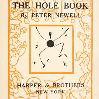The Hole Book: An Illustrated Warning On Guns (1908)