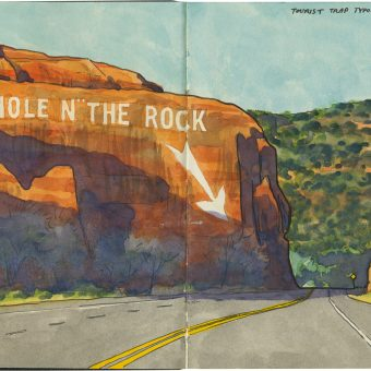 Drawing The Road: An Artist's Moving Gallery Of Discovery