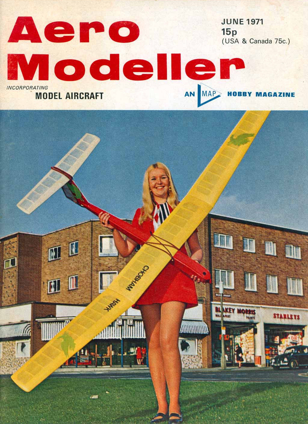 Model Magazines List: Cover Girls Of Model Airplane Magazines Of The 1960s-1990s