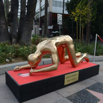 When the Oscar Statue Snorted Cocaine On Hollywood Boulevard