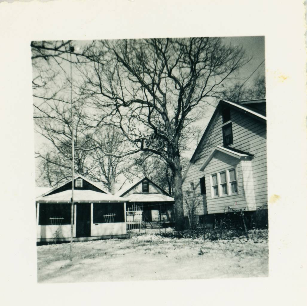 think 19 Oak Terrace (centre?), Neptune City, New Jersey, USA - I think 1947 (the year I was born) which was famously cold and snowy
