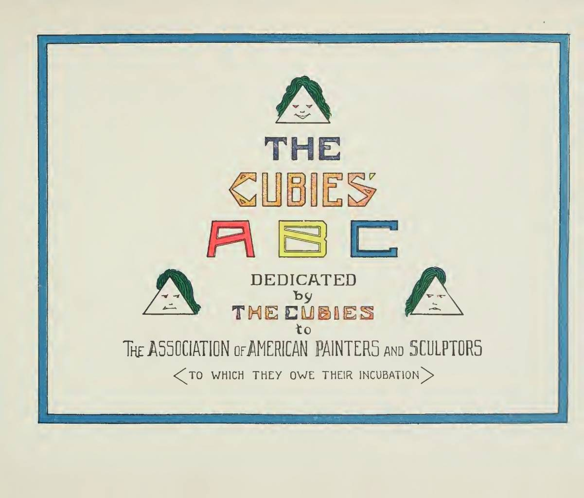 The Cubies ABC , Earl Harvey Lyall , Mary Mills Lyall