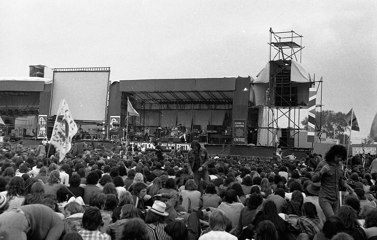 Photos Of The Reading Festival In The 1970s Flashbak