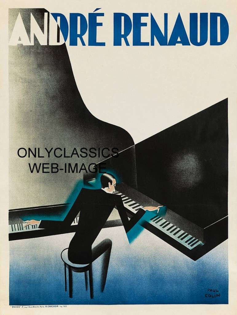 1929 ANDRE RENAUD DUAL PLAYING GRAND PIANO