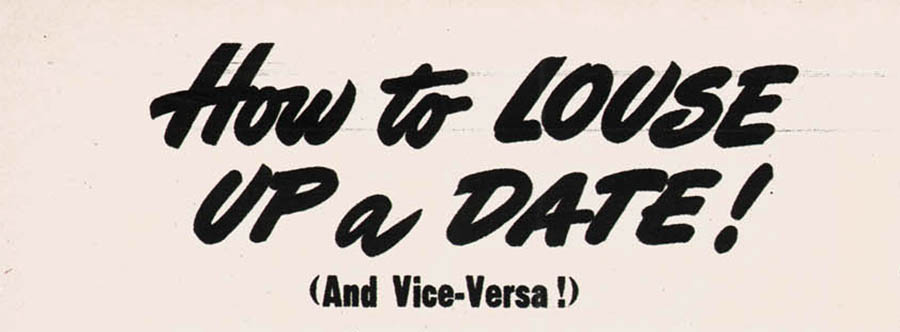 1948 guide to dating I
