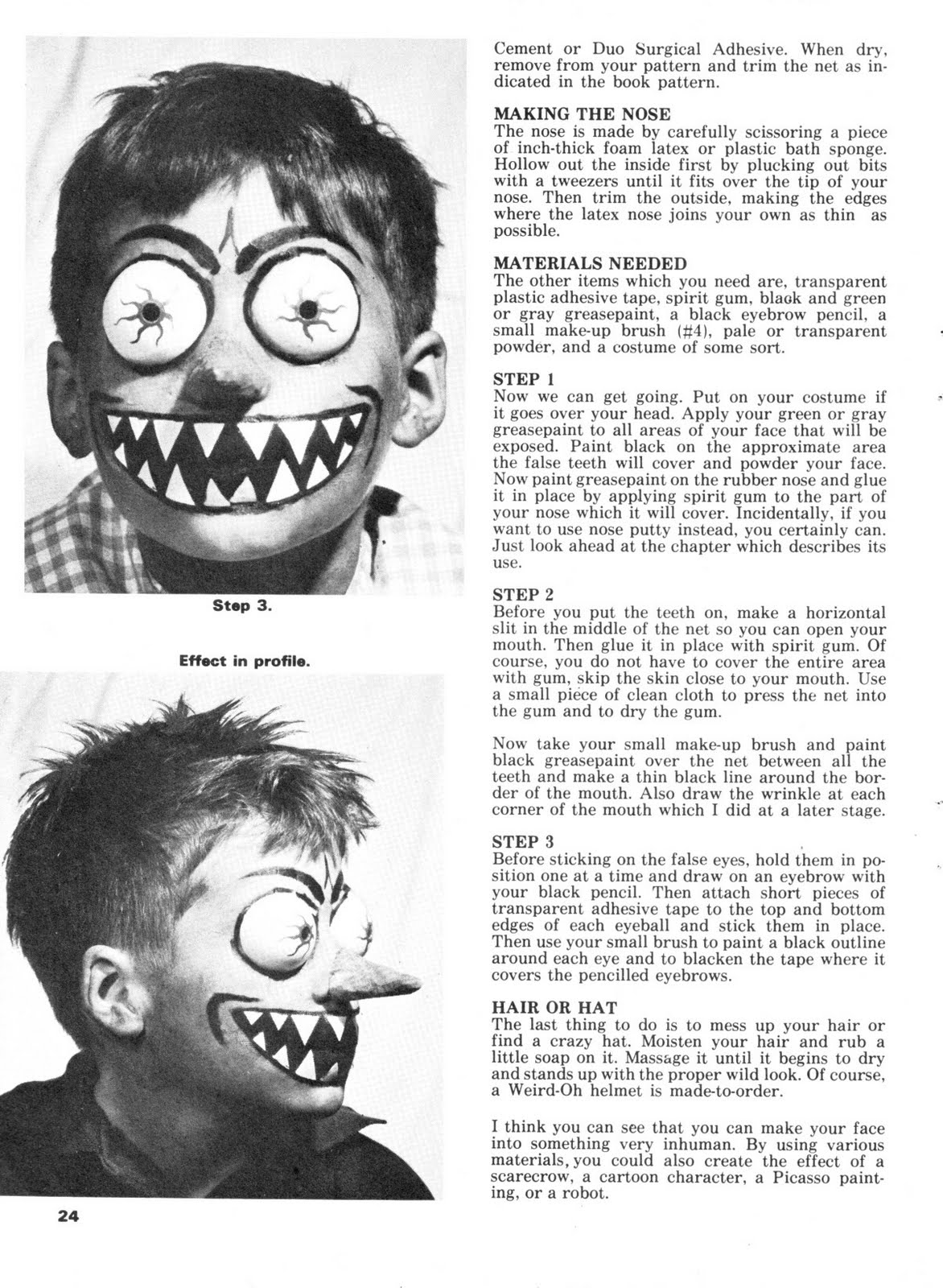 Get into films with the do it yourself monster make up handbook by do it yourself monster make up handbook by dick smith warren publishing solutioingenieria Choice Image